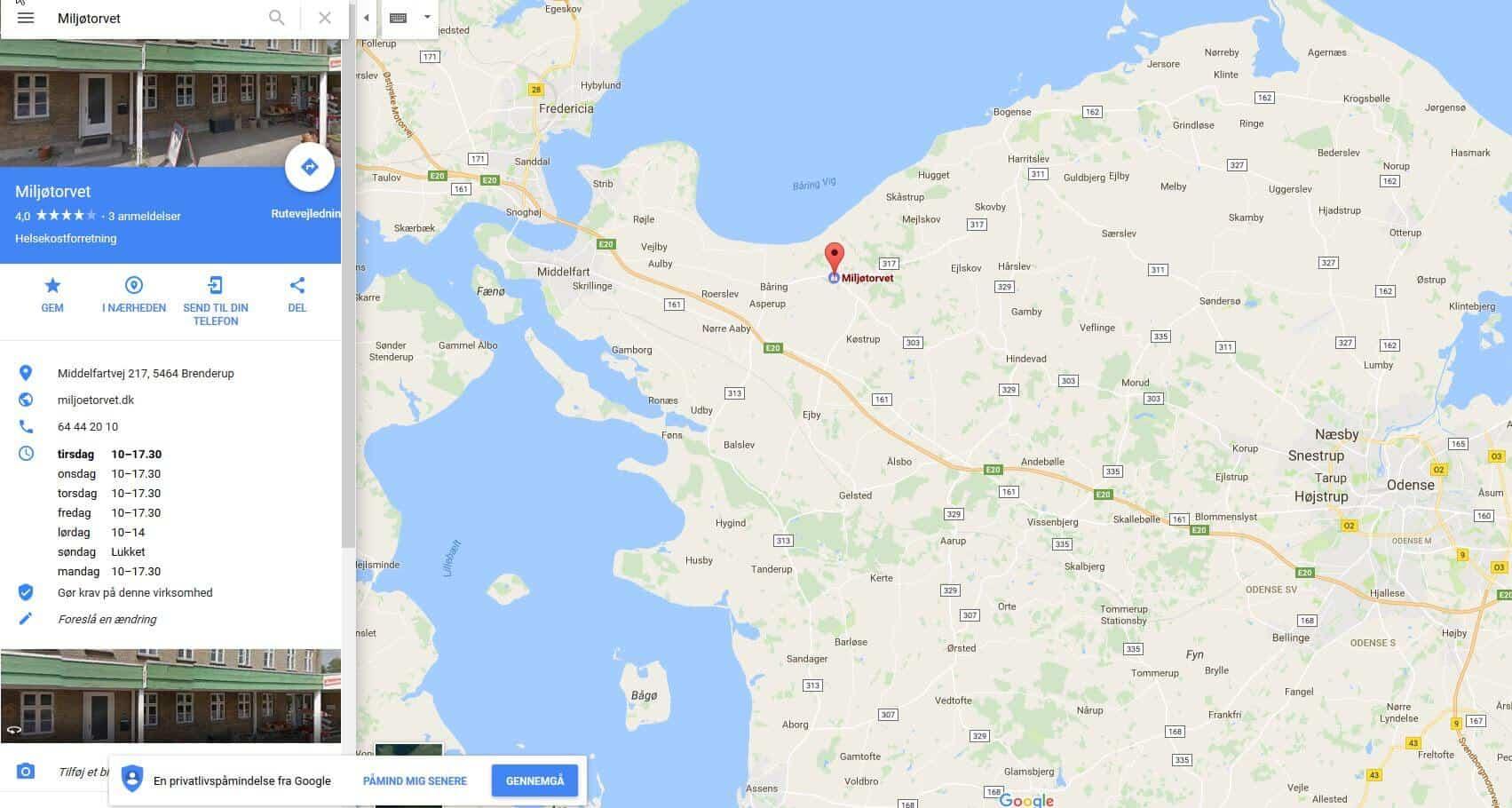 Ny forhandler i Brenderup på Fyn