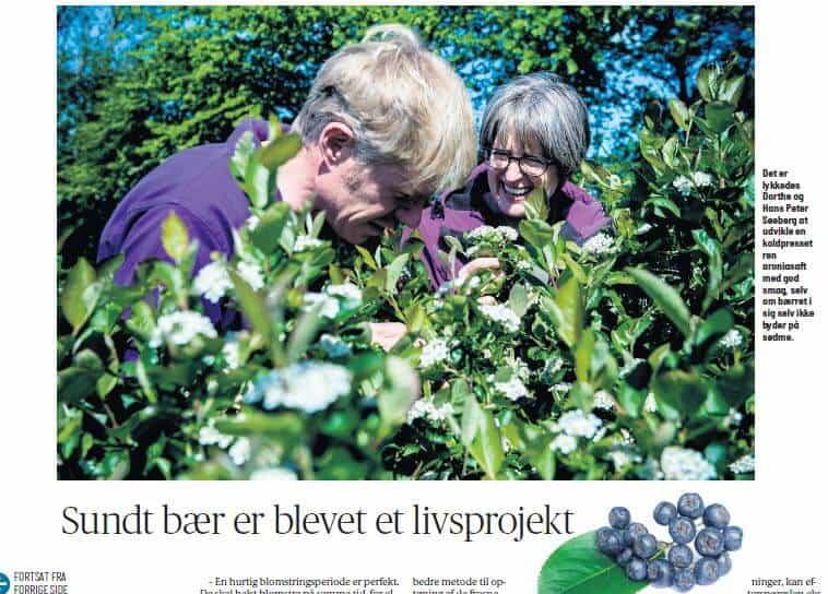 Blomstertur på Elkærholm
